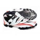 SHIMANO Chaussures VTT M087 Noire/Rouge