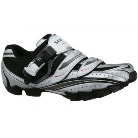vente limitée pour toute la famille dernières tendances de 2019 SHIMANO Chaussures VTT M087 Argent