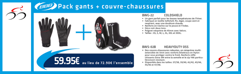 Pack Gant + Couvre Chaussure